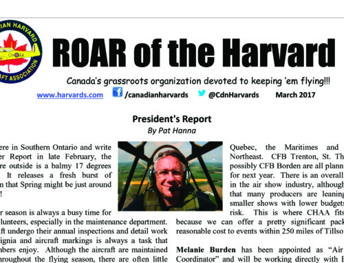 ROAR of the Harvard – March 2017 edition is here!